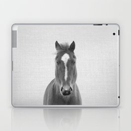 Horse II - Black & White Laptop & iPad Skin