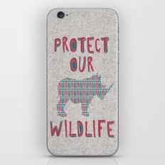 Protect Our Wildlife 23 iPhone & iPod Skin
