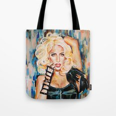 Lady singer  Tote Bag