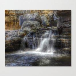 Calm Waters - Waterfall Canvas Print