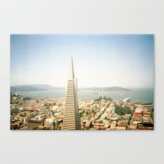 Transamerica Pyramid, San Francisco Canvas Print