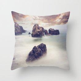 Ocean Landscape Throw Pillow