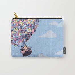disney pixar up.. balloons and sky with house Carry-All Pouch