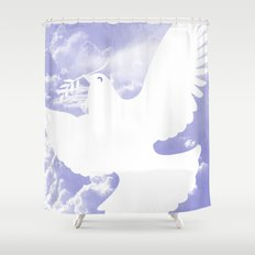 Peace all over Shower Curtain