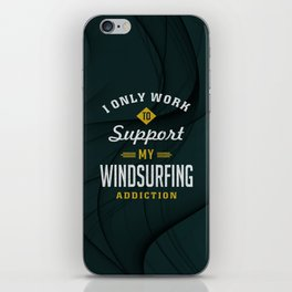 Windsurfing Extreme Sport iPhone Skin
