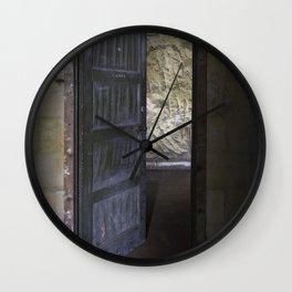 Clerks door Wall Clock