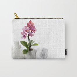 spa composition with beautiful pink orchid Carry-All Pouch
