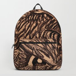 Fierce Brown Owl Backpack