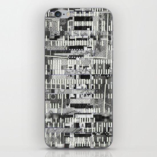 Exploiting Digital Behavior (P/D3 Glitch Collage Studies) iPhone Skin