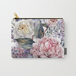 Watercolor Bouquet Carry-All Pouch
