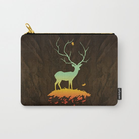 Fawn and Flora Carry-All Pouch