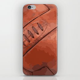 World Cup Soccer Ball - 1930 iPhone Skin
