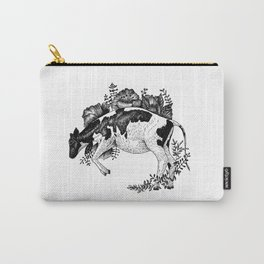 Cow - Go Vegan Carry-All Pouch