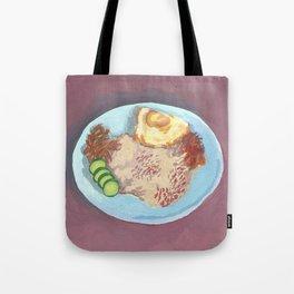 Malaysian Food #1: Nasi Lemak Tote Bag