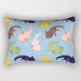 Axolotl Pattern Rectangular Pillow