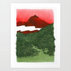 W #1 Art Print