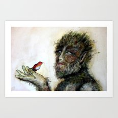 Greenman Art Print