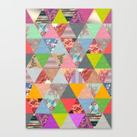lost Canvas Prints featuring Lost in ▲ by Bianca Green