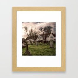 Final resting place Framed Art Print