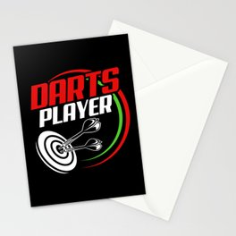 Dart Darts Dartboard Dart Player 180 Sports Game Stationery Cards