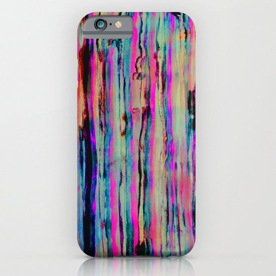 Neon Stripes iPhone & iPod Case