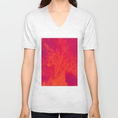 Saturated Branches Unisex V-Neck