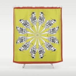 Matti the cocatiel circle of life Shower Curtain