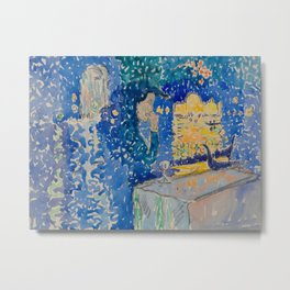 Venice Night of the Festival of the Redeemer Henri-Edmond Cross Neo-Impressionism Pointillism Metal Print