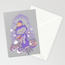 Tea Monkey Tea Party Stationery Cards