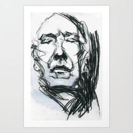 Alan Rickman Art Print
