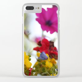 Colors of Nature Clear iPhone Case