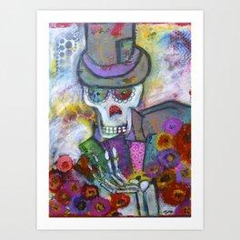 Shadow Man Art Print