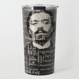 ROGUES GALLERY / 1894 Criminology - Bertillonage 006 Travel Mug