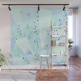 Pippa Blue Wall Mural