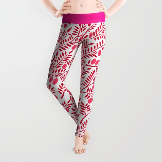 Olive Branches – Fiery Palette Leggings