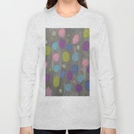 Pastel Bubbles Abstract Long Sleeve T-shirt