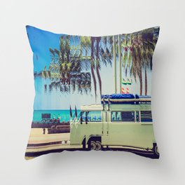 Camp Out Throw Pillow