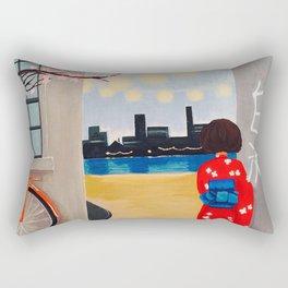 Heiwa - Japanese for Peace Rectangular Pillow