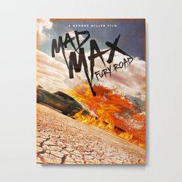 Mad Max (2015) Poster Metal Print