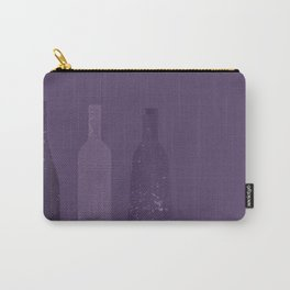 Abstract Wine Bottles Carry-All Pouch