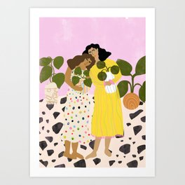 No Thanks, We Have Plants Art Print