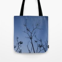 night sky Tote Bags featuring Night Sky by Shy Photog