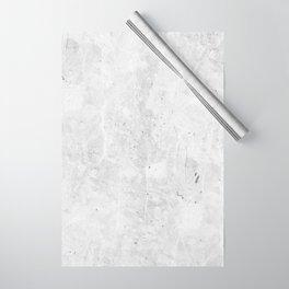 White Light Gray Concrete Wrapping Paper