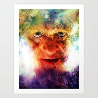 silence of the lambs Art Prints featuring Silence by Rabassa