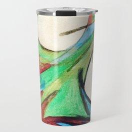 Aquarela bird Travel Mug