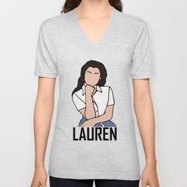 Lauren Jauregui Unisex V-Neck