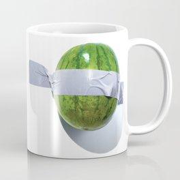 Melon Duct-taped Coffee Mug