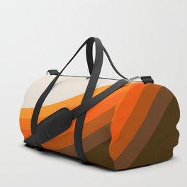 Golden Horizon Diptych - Right Side Duffle Bag