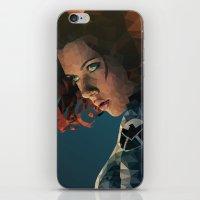 black widow iPhone & iPod Skins featuring Black Widow by Chelsea Lindsay