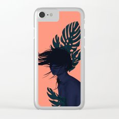 Windy day Clear iPhone Case